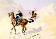 Frederick Remington The Advance Guard oil painting picture wholesale